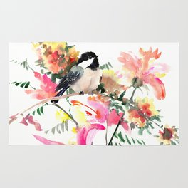 Bird and Blossom Rug