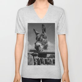 Irish Donkey - Get My Good Side Unisex V-Neck