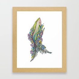 Of Land and Sea Framed Art Print