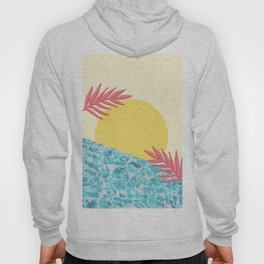 Tropical landscape Hoody