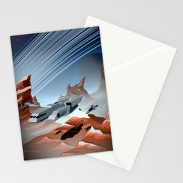 Steel and Rock Stationery Cards