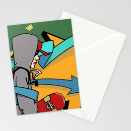 Keep Moving Forward Stationery Cards