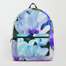 Blue Indigo Tulips Backpack