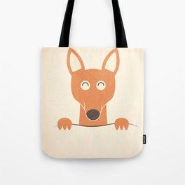 Pocket Kangaroo Tote Bag