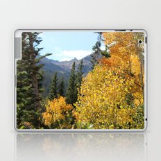Autumn in the Rocky Mountains at Diamond Lake Trail, Eldora Colorado Laptop & iPad Skin