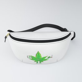 Funny Marijuana Leaf for 420 Weed Smokers Fanny Pack