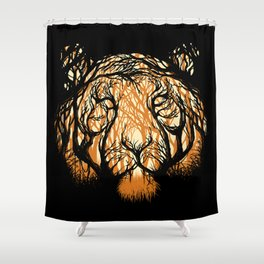 Hidden Hunter Shower Curtain