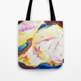 Abstraction - Piece of warm - by LiliFlore Tote Bag