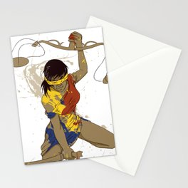 Blind Justice Stationery Cards