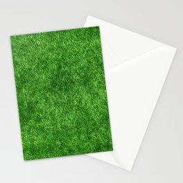 Green Grass Background Stationery Cards