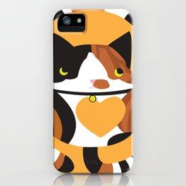 Calico Kitten iPhone Case