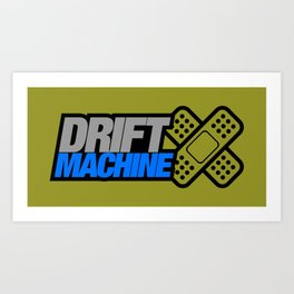 Drift Machine v6 HQvector Art Print