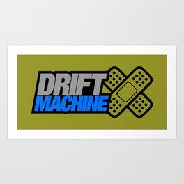Drift Machine v6 HQvector Art Print