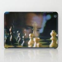 chess iPad Cases featuring CHESS by Sebastián Nieto