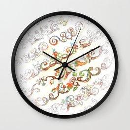 Progression Wall Clock