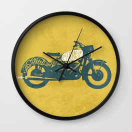 streets Wall Clock