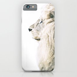 NORDIC LION iPhone Case