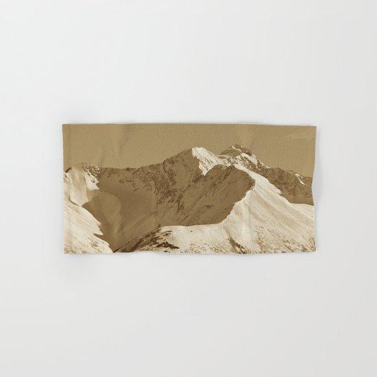 Majestic Mountain - Sepia Hand & Bath Towel