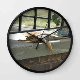 Someone There? Wall Clock