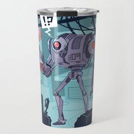 R3D BBL R0B0T Travel Mug