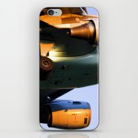 plane iPhone & iPod Skins featuring Plane by Luc Girouard
