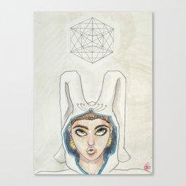 Tona Helix Canvas Print