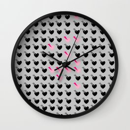 Love is a game, minesweeper  Wall Clock