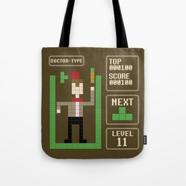 TETRIS: Doctor Type Tote Bag