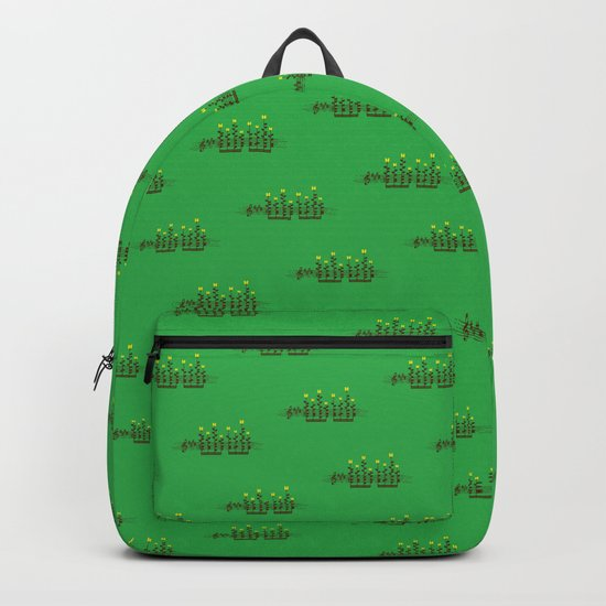 Music notes garden Backpack