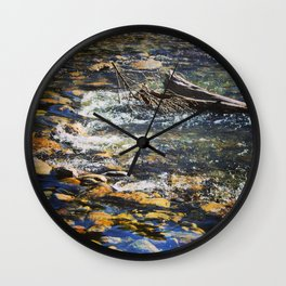 Crystal Clear Pedernales Wall Clock