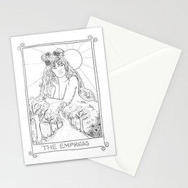 The Empress Tarot Stationery Cards