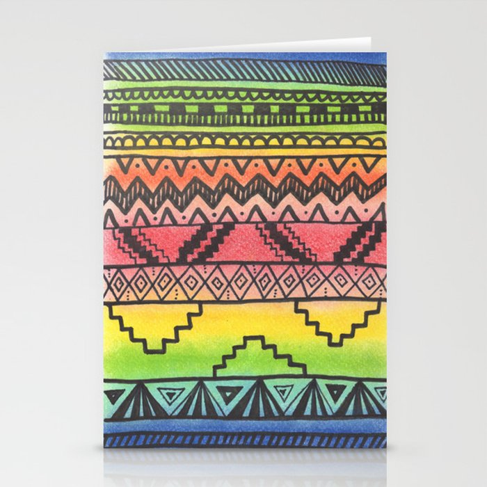 Tribal #3 Stationery Cards