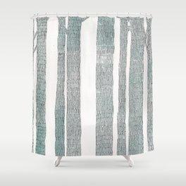 """Woods"" Shower Curtain"