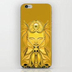 And It Was All Yellow iPhone Skin