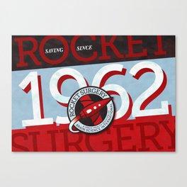 Rocket Surgery Canvas Print