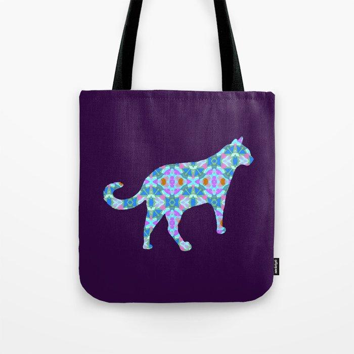 Colorful Cat Tote Bag