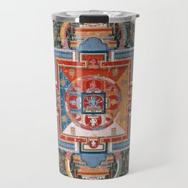 Mandala of Jnanadakini Travel Mug