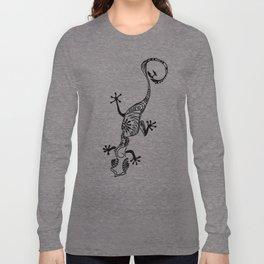 06. Lizard Henna  Long Sleeve T-shirt