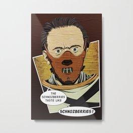 Lecter Wonka Metal Print