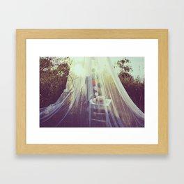 Summer Hideaway Framed Art Print