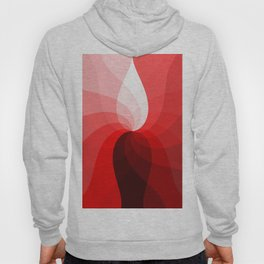 Monochromatic red Hoody
