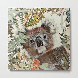 Toony Koala Metal Print