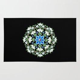 Folkloric Flower Crown Rug