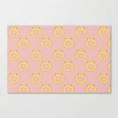 Bovi-doughnut Pattern Canvas Print