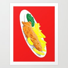 Fish, 2013. Art Print
