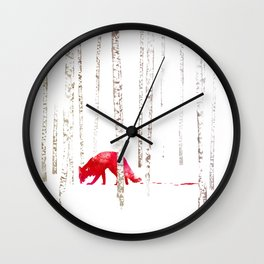 There's nowhere to run Wall Clock