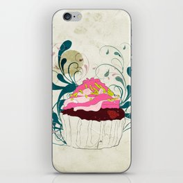 Cupcake without the Guilt  iPhone Skin