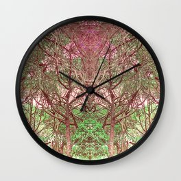 Nature's Cathedral #1 Wall Clock