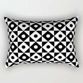 Monochrome Fantasy III Rectangular Pillow