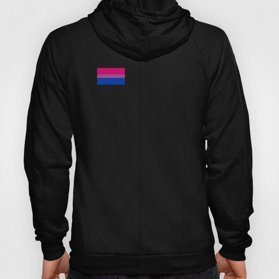 Gay Pride LGBT Bisexual Bi Rainbow Tiny Flag 2018 by phoxydesign